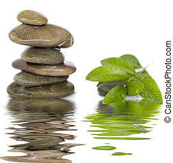 evenwichtig, stenen