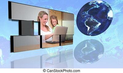 families, intern, internationaal, gebruik