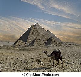 fantasie, piramides