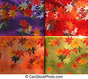 farceren, kimono, textuur