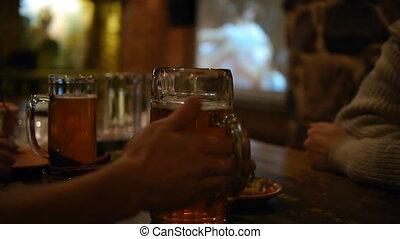 feestje, bier, -, hd