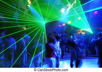 feestje, muziek, disco