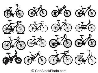 fiets, pictogram