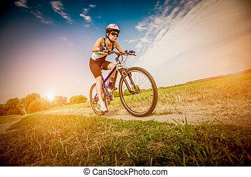 fiets, vrouwen