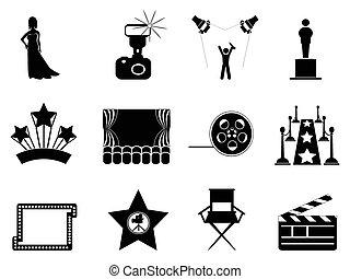 film, symbool, oscar, iconen