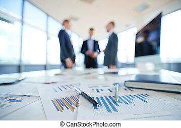 financieel, rapporten