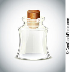 fles, glas