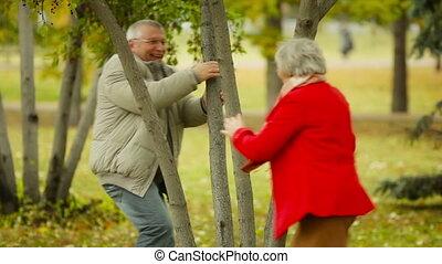 flirty, pensioentrekkeren