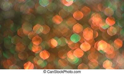 focus., zacht, disco, licht, effect.