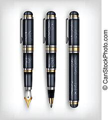 fontijn, concept, pen, creatief