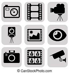 foto, iconen
