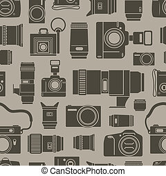 foto, moderne, seamless, technics, achtergrond, retro
