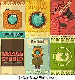 foto studio, poster