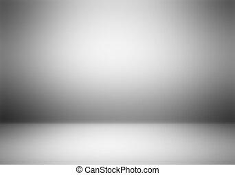fotograaf, duidelijk, studio, lege, achtergrond.
