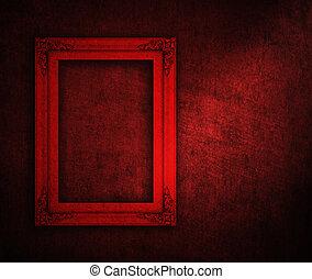 frame, artwork.