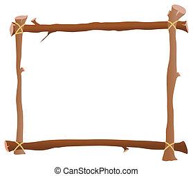 frame, houten