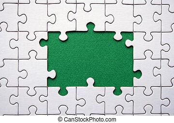 frame, jigsaws