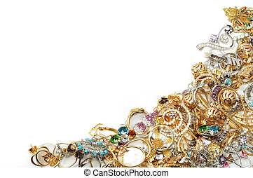 frame, juwelen, goud
