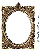 frame, ovaal, afbeelding