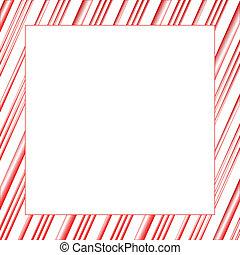 frame, streep, versuikeren