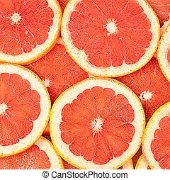 fris, grapefruit, achtergrond