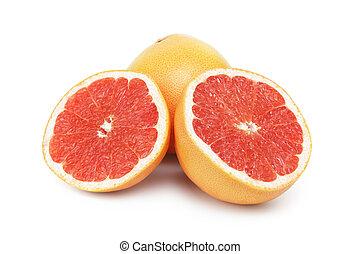 fris, grapefruit, rijp