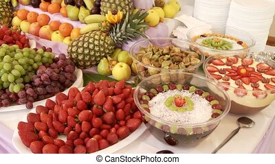 fruit, buffet