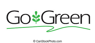 gaan, groene, type