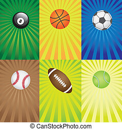 games., set, sportende, gelul