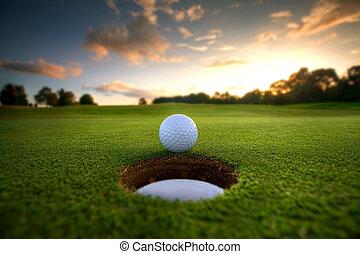 gat, bal, golf