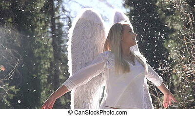 geboorte, engel