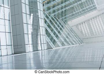 gebouw, abstract, zakelijk, achtergrond