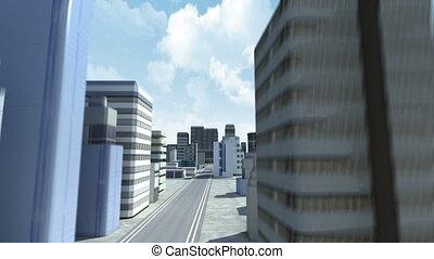 gebouw, stad, bouwsector, 2