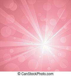gebruiken, punten, ontploffing, lineair, pink., nee, schaduwen, abstract, globaal, achtergrond, licht, frappant, samenstellen, colors., transparencies., radiaal, kunstwerk, glanzend, layered., gradients