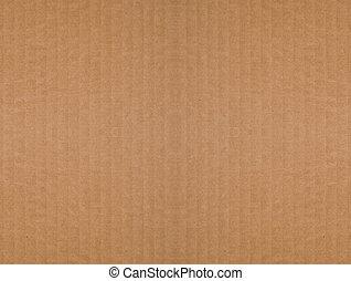 gegolfd, bruine , karton, achtergrond