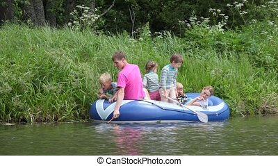geitjes, gezin, scheepje, rubber, visserij, 4