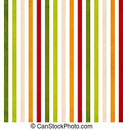 gekleurde, verticaal, model, streep, -, strepen, gele, groene, retro, achtergrond, beige, rood