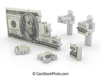 geld, raadsel