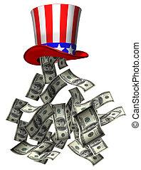 geld, regering