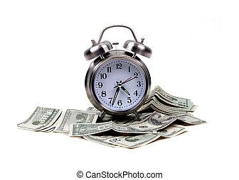 geld, voorwerpen, -, tijd