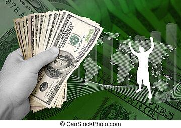 geld, zakelijk, succes