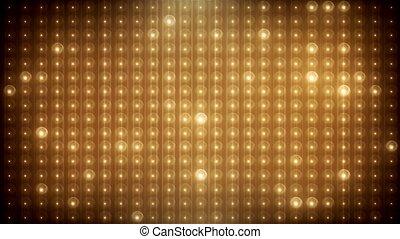 geleide, goud, vj, achtergrond, geanimeerd, schitteren