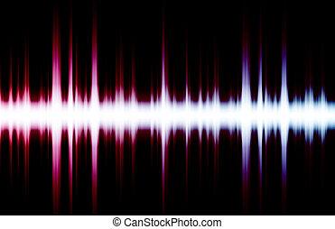 geluid, equalizer, ritmes, muziek, ritme