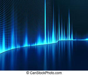 geluid, grafisch