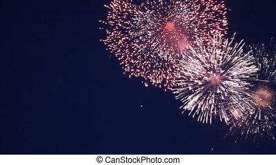 geluid, vakantie, vuurwerk
