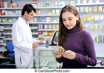 geneeskunde, consument, apotheek