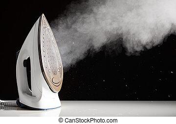 generator, het ijzer van de stoom