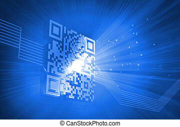 genereren, digitaal, streepjescode