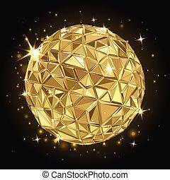 geometrisch, disco bal