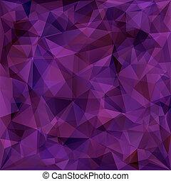 geometrisch, driehoeken, achtergrondmodel